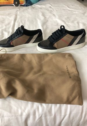 Burberry House Check and Leather Sneakers for Sale in Windermere, FL