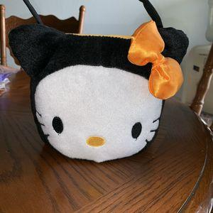 Hello Kitty trick or treat Halloween bucket for Sale in Fontana, CA