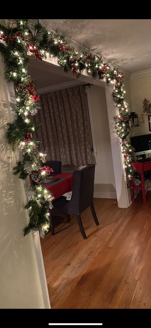 2 Christmas garlands Brand New!!! Box never opened for Sale in Englewood, NJ