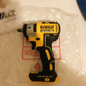 Dewalt xr 3/8 no battery no charger new for Sale in Yonkers, NY