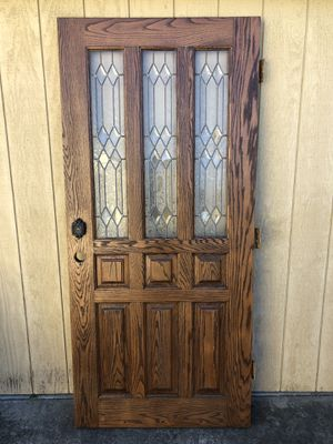 Door Solid oak for Sale in San Jose, CA