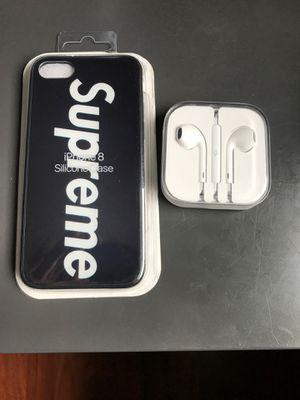 iphone 7/8 oem apple headphones for Sale in Manassas, VA