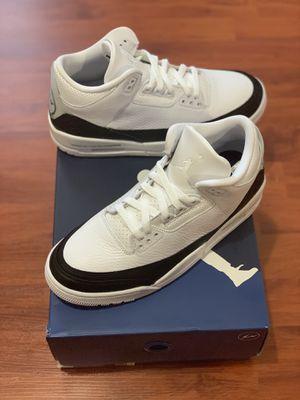 Jordan 3 Retro 'Fragment' White size 8 for Sale in Miami, FL