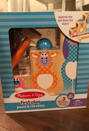 Melissa and Doug Hammer and roll! Great toy for toddler! for Sale in Washington, DC