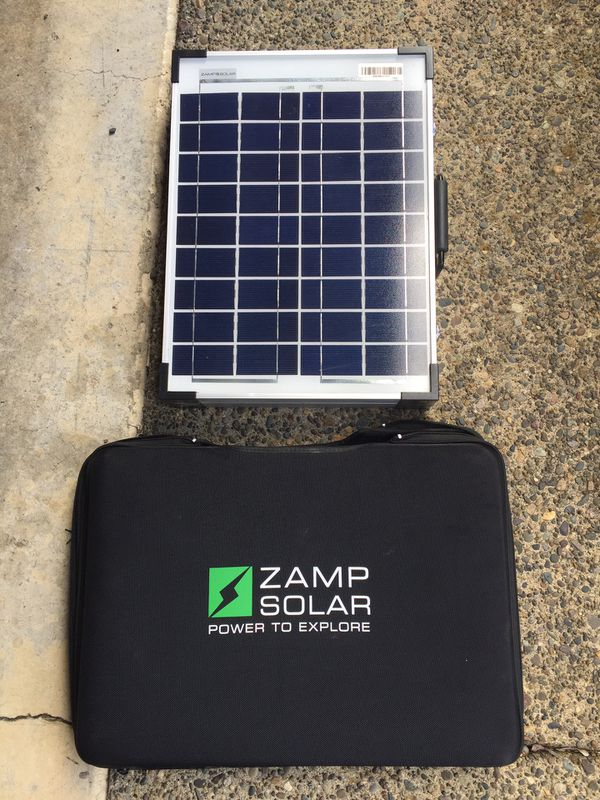 Zamp Solar Panel for RV & Camping for Sale in Dundee, OR - OfferUp