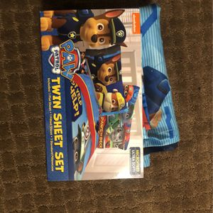 Twin Paw Patrol Bedding. for Sale in Vancouver, WA