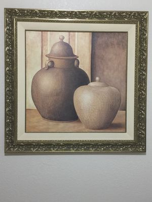 Painting picture with fancy frame for Sale in Renton, WA