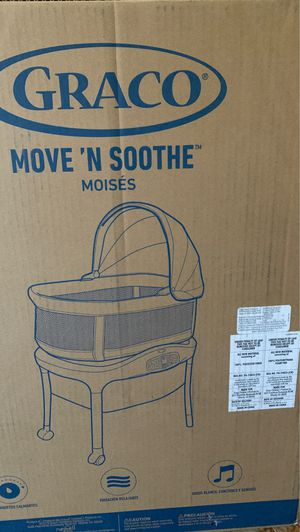 Brand New Bassinet! Move N' Soothe! Double stroller! 4ever extended car seat! for Sale in Washington, DC