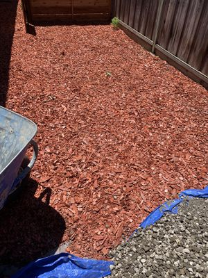 Red Bark Mulch for Sale in San Jose, CA