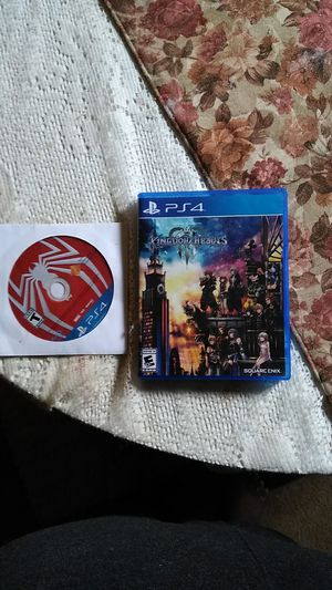 Kingdom Hearts 3 Spider Man PS4 Games for Sale in Cleveland, OH