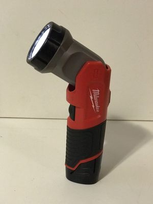 MILWAUKEE M12 CORDLESS FLASH LIGHT NO BATTERY OR CHARGER INCLUDED TOOL ONLY SOLO LA HERRAMIENTA for Sale in San Bernardino, CA