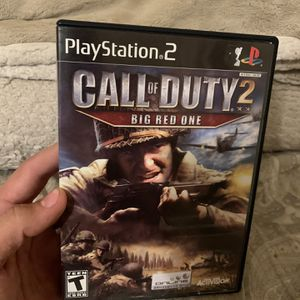 Call Of Duty 2 Big Red One Cod Ps2 for Sale in Lakeside, CA