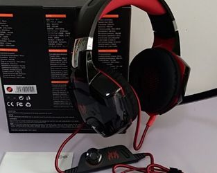 Kotion High Quality Gaming Headset Red and Black Color for Sale in Glen Burnie,  MD