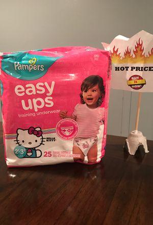 Pampers Easy Ups Training Underwear for Sale in Hyattsville, MD
