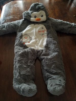 Cute baby winter onesie for Sale in Jackson Township, NJ