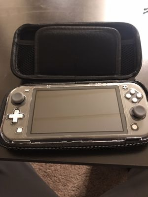 Nintendo Switch Lite Gray Bundle for Sale in Ridgecrest, CA