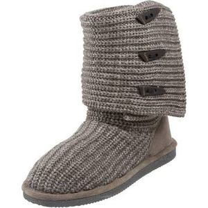 BEARPAW women's tall knit winter boots grey for Sale in Houston, TX