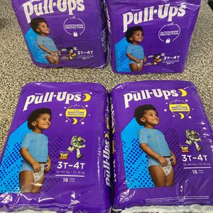 HUGGIES DIAPERS PULL UPS SIZE 3T-4T for Sale in Los Angeles, CA