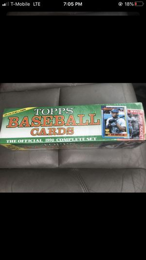 Topps Baseball Cards Official 1990 set for Sale in Sumner, WA