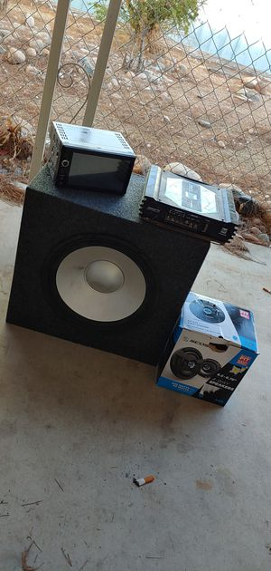 Truck/car sound system for Sale in Peoria, AZ