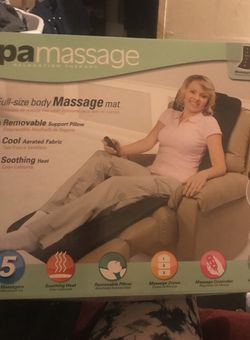 Heated Relatation Therapy SpaMassage Mat. for Sale in Bowling Green,  FL