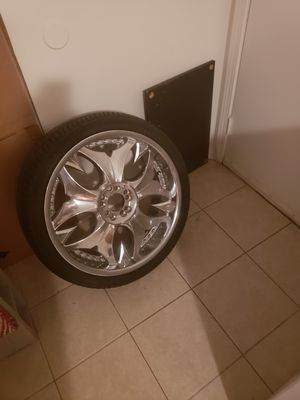 "20"" mazzi 5 lug rims. for Sale in Atlanta, GA"