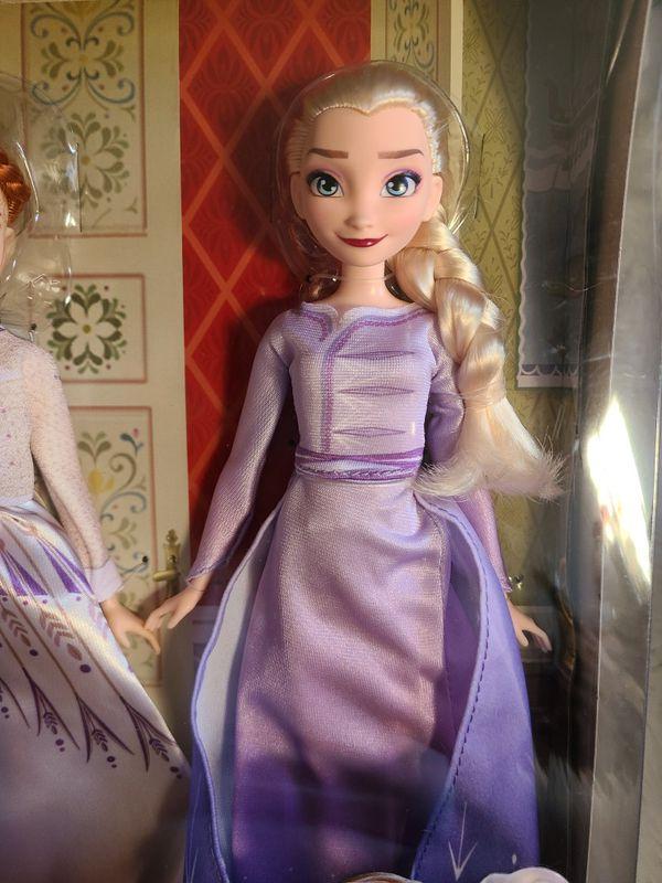 Disney Frozen II doll set Anna and Elsa