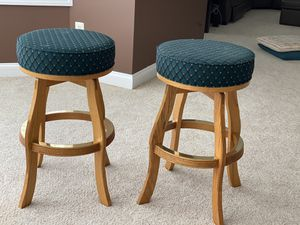 Wooden Bar Stool with cushion for Sale in Germantown, MD