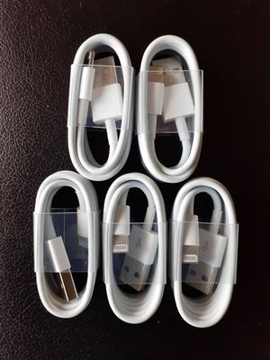 5 For $20 iPhone Charging Cables Bundle New for Sale in Las Vegas, NV