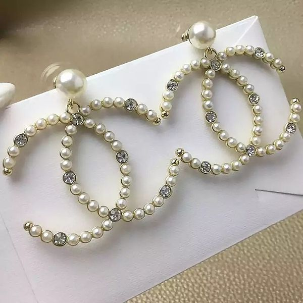 New large dangle earrings