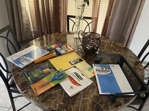 New assorted school supplies everything 1 dollar for Sale in Orlando, FL