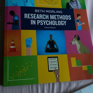 (Psychology Textbook) Research Methods In Psychology 3rd Edition for Sale in Pleasanton, CA