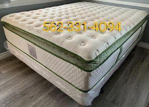 🍀 Elite Queen Organic Superior Plush Hybrid Gel Pillowtop. 🍀 for Sale in Clovis, CA