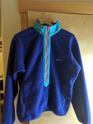 Patagonia women's half zip fleece for Sale in Portland, OR