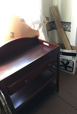 Baby changing table for Sale in North Brookfield, MA
