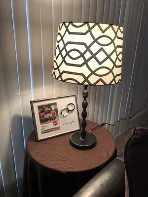 IKEA EKARP Lamp w/ lampshade for Sale in Charlottesville, VA