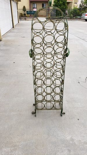 Vintage wine rack. for Sale in Anaheim, CA