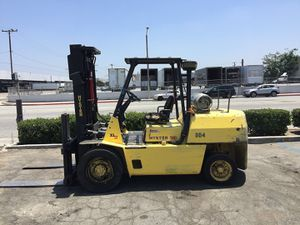 2000 hyster 10,000lbs pneumatic tires 3 stage side shift propane engine forklift for Sale in Montebello, CA
