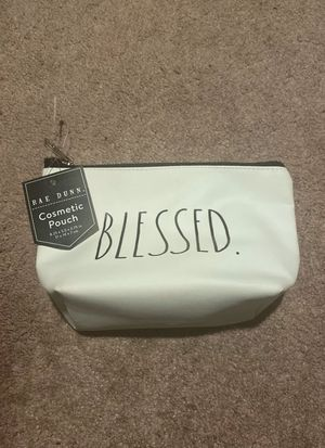 Small Rae Dunn Makeup Blessed Cosmetic Pouch for Sale in Wallingford, CT