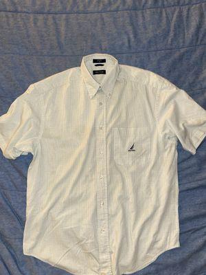 Men's nautica short sleeve shirt medium for Sale in Durham, NC