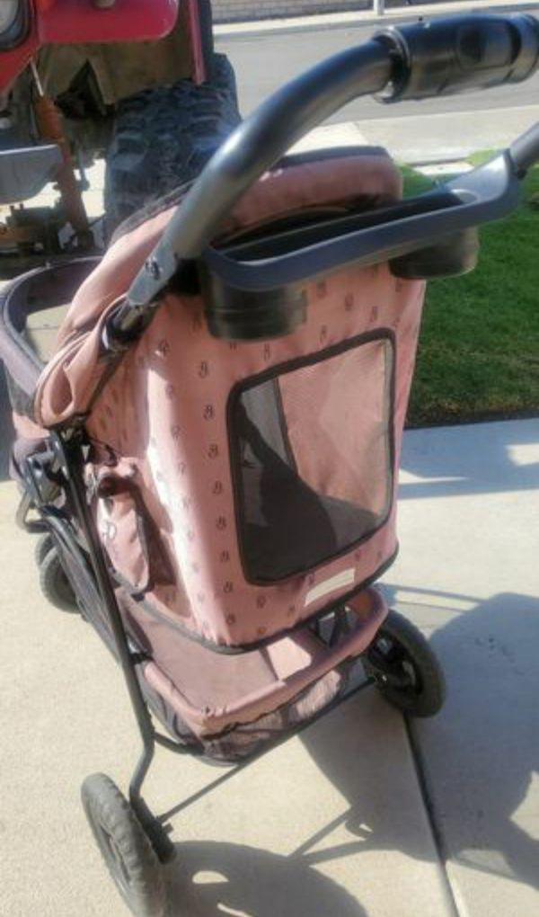 Pet Gear Special Edition No-Zip Dog & Cat Stroller, Coffee Brown