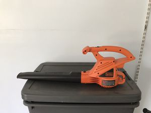 Black and Decker Leaf Blower for Sale in Bloomington, IL