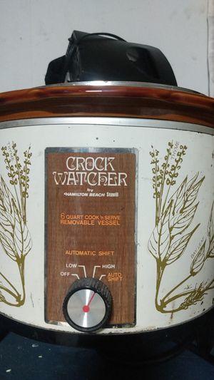 Vintage crock pot Hamilton Beach $10! for Sale in Round Rock, TX
