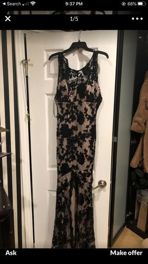 Black Dress with Flower Lace for Sale in Los Angeles, CA