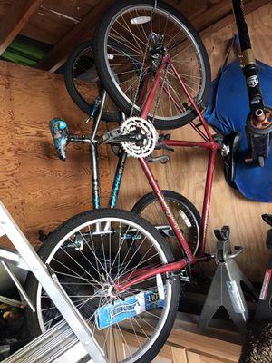 26 in wheel red specialized stump jumper mountain bike, needs tires for Sale in Rossmoor, CA