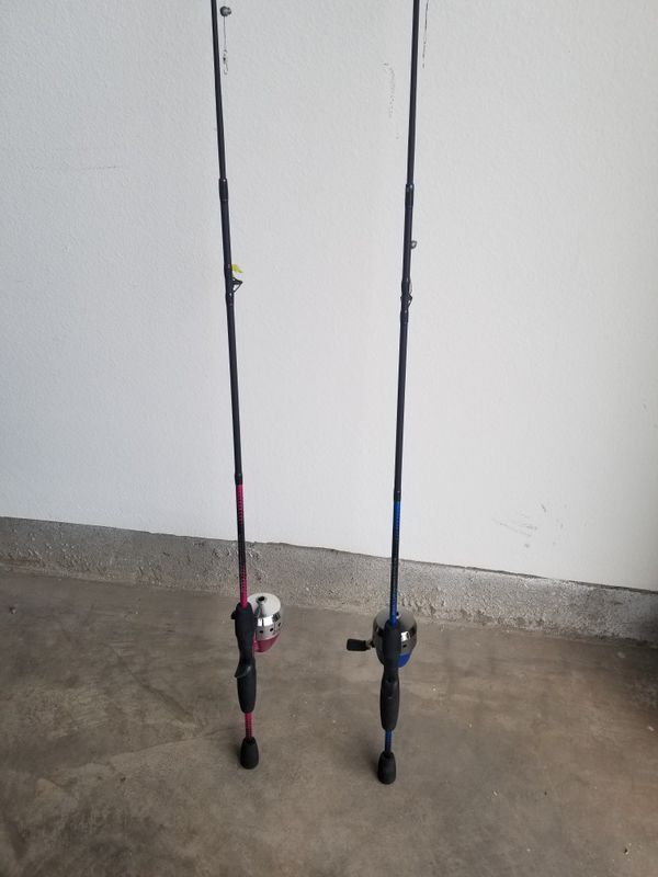 2 Fishing Poles Shakespeare Reverb His And Hers