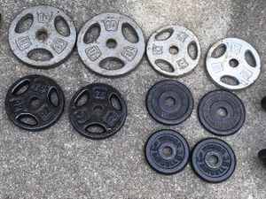 Universal Free Weight Plates for Sale in Alpharetta, GA