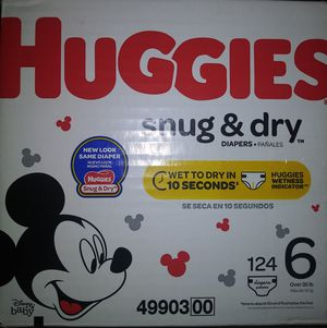 HUGGIES SNUG&DRY for Sale in Moreno Valley, CA