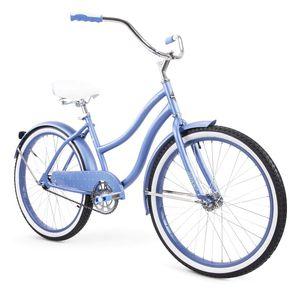 "Huffy 24"" Cranbrook Women's Comfort Cruiser Bike Periwinkle Blue for Sale in Woodhaven, MI"