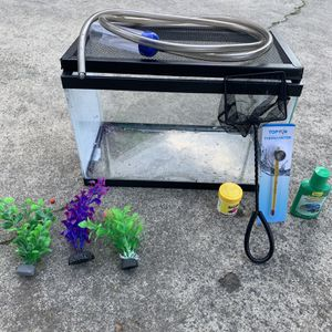 Fish Tank Starter Kit for Sale in Sacramento, CA